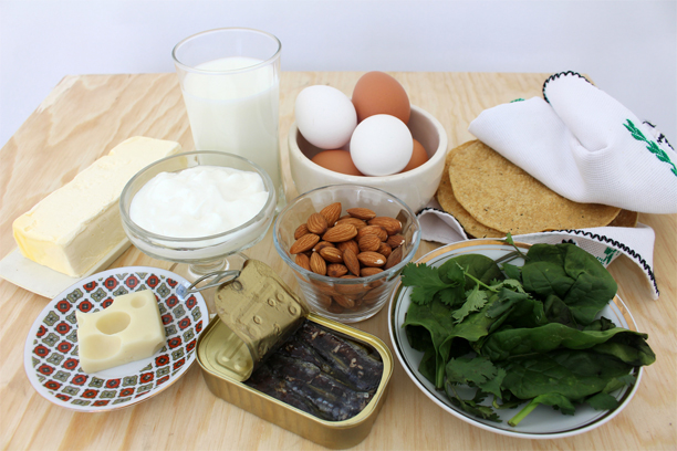 Various foods that have minerals
