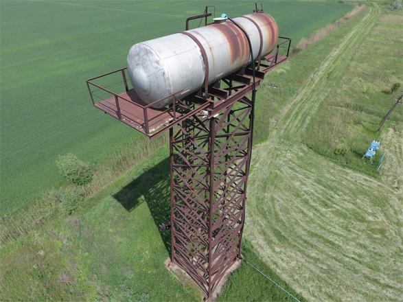 Distilled Water Tower